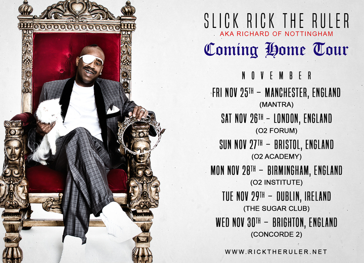 Slick Rick @ Concorde 2 - Brighton, United Kingdom