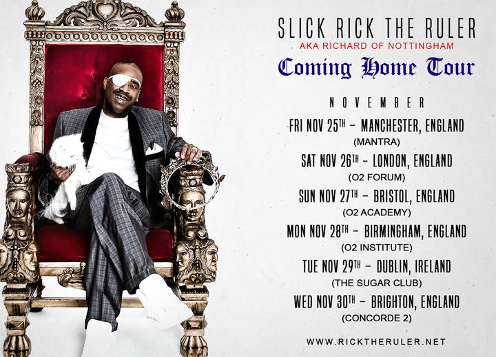 Slick Rick @ The Sugar Club - Dublin, Ireland