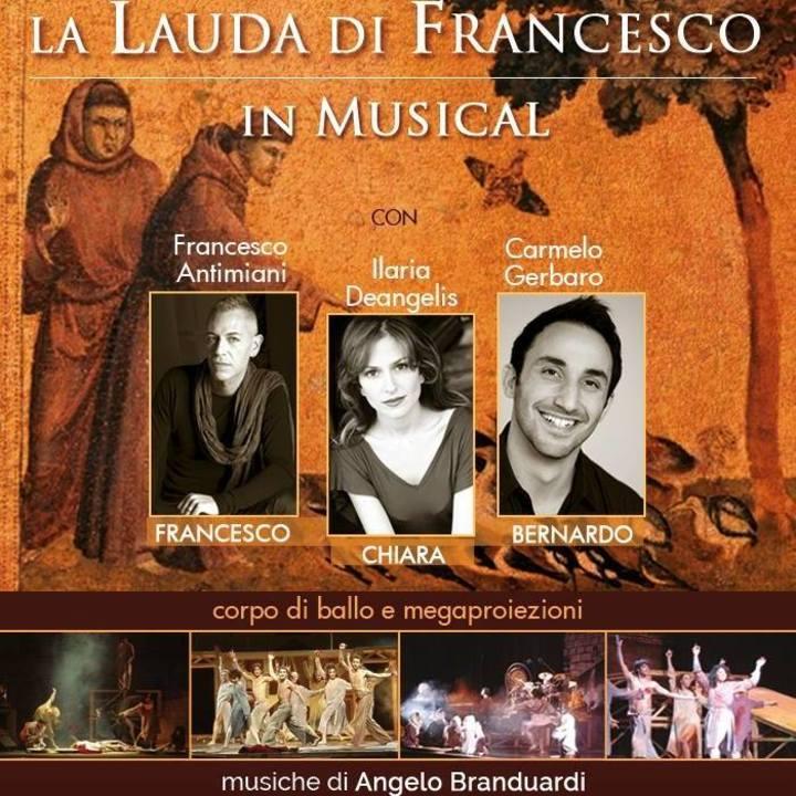 La Lauda di Francesco Musical @ Teatro Del Sentino - Sassoferrato, Italy