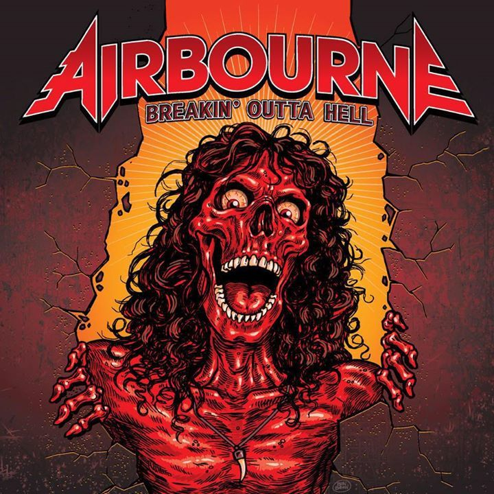 Airbourne @ La Rivier - Madrid, Spain