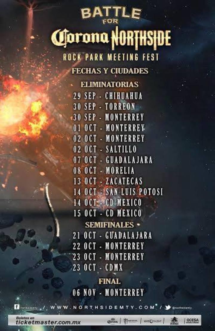 Siempre Fuertes Tour Dates