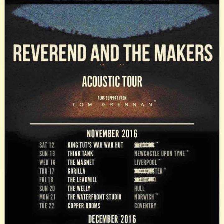 Reverend and The Makers @ Oslo - London, United Kingdom