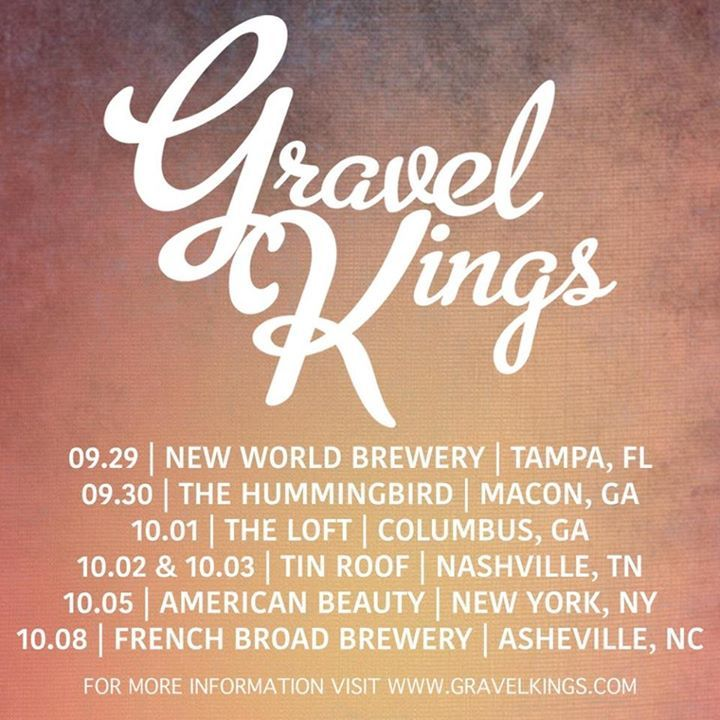 Gravel Kings Tour Dates