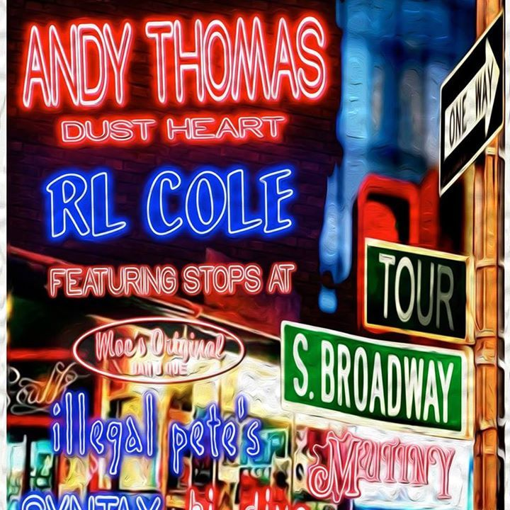 Andy Thomas' Dust Heart Tour Dates