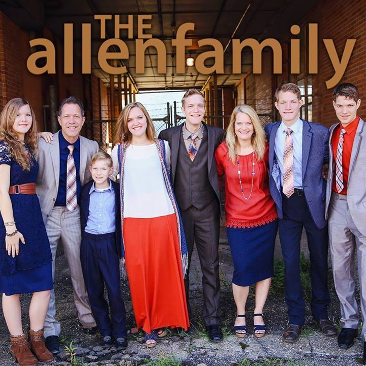 The Allen Family Tour Dates