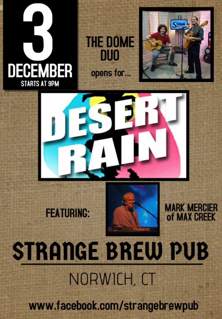 The Dome Duo @ Strange Brew Pub - Norwich, CT