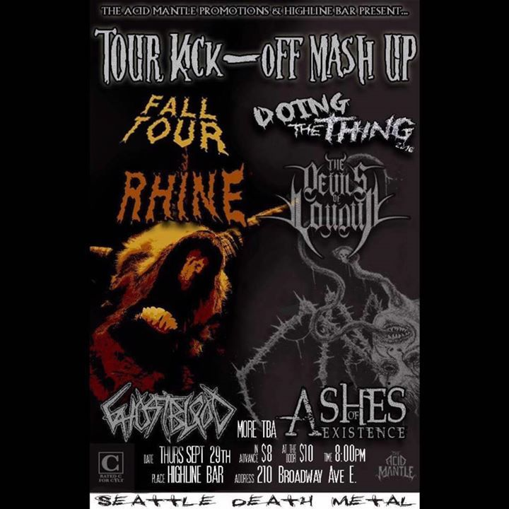 Rhine Tour Dates