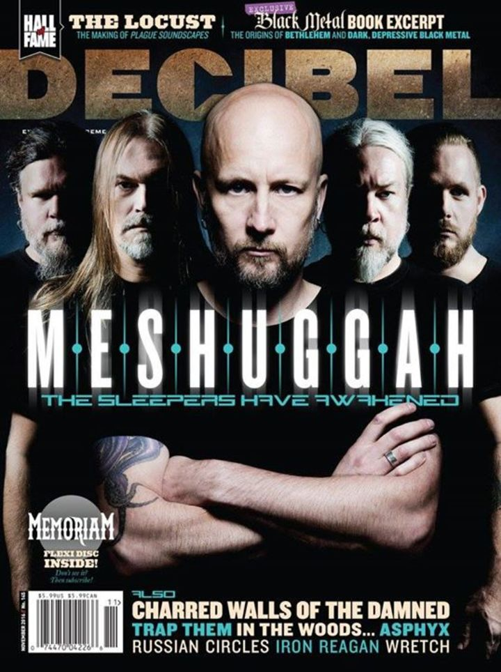 Meshuggah @ La Rivier - Madrid, Spain
