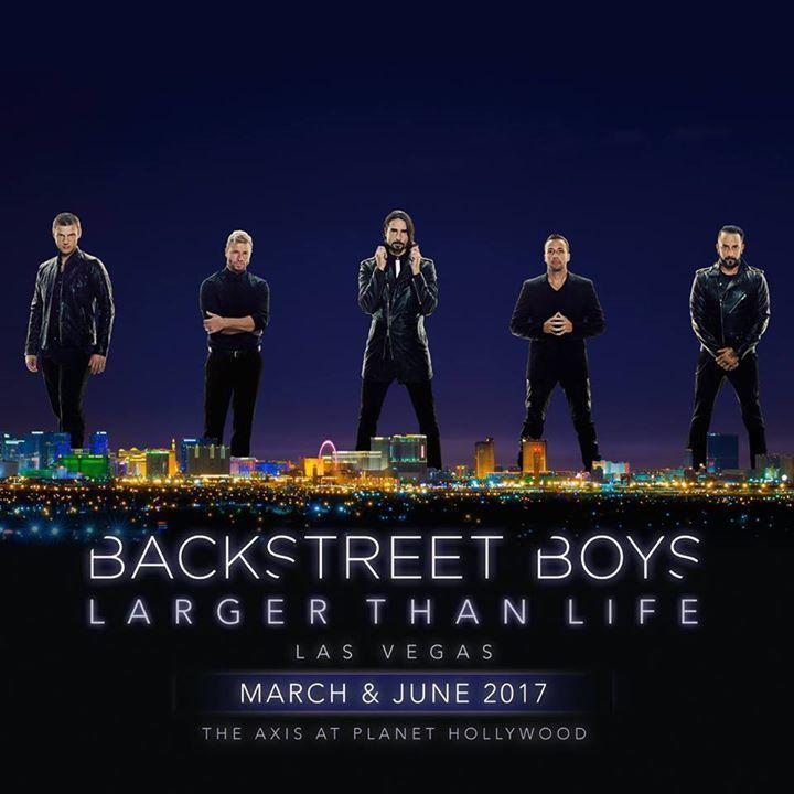 Backstreet Boys Tour Dates