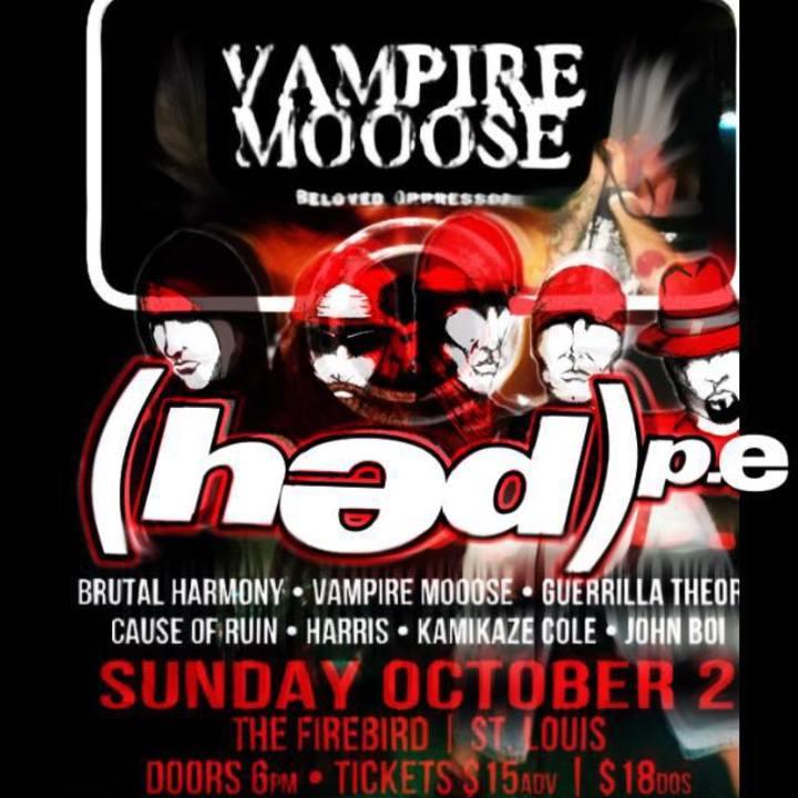 Vampire Mooose Tour Dates