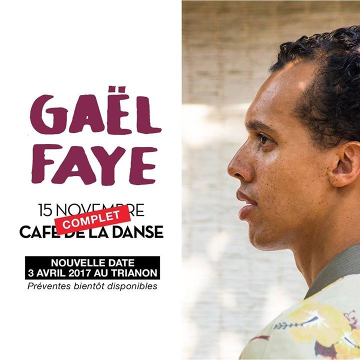 Gaël Faye @ Le Trianon - Paris, France