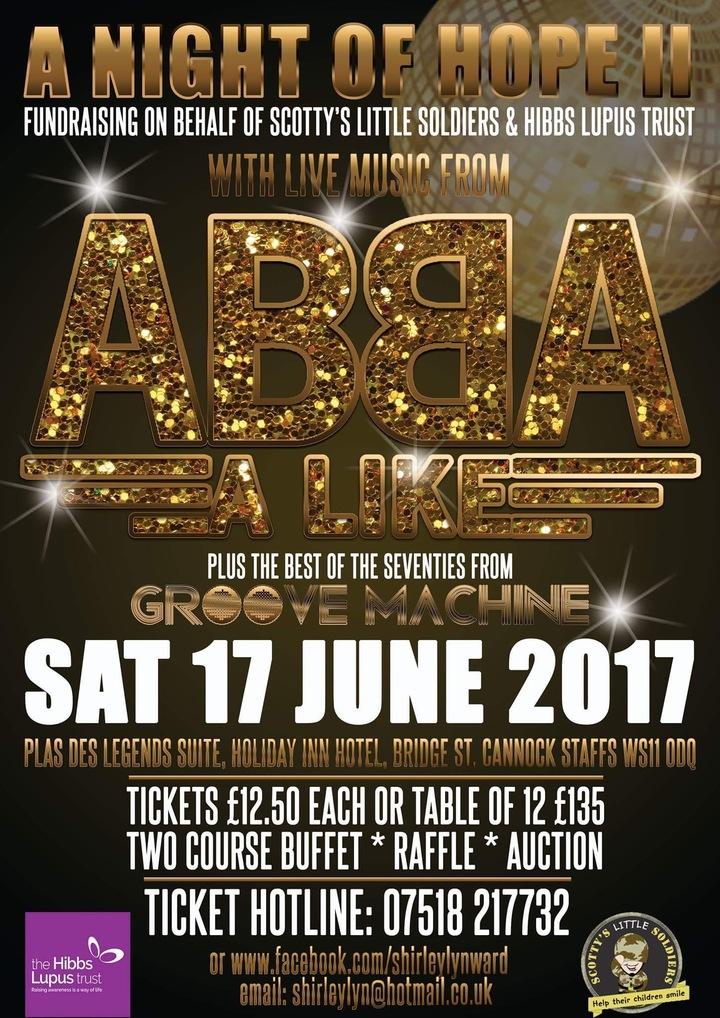 Adrian Marx Music @ Holiday Inn (Charity Night ABBA Band) - Cannock, United Kingdom