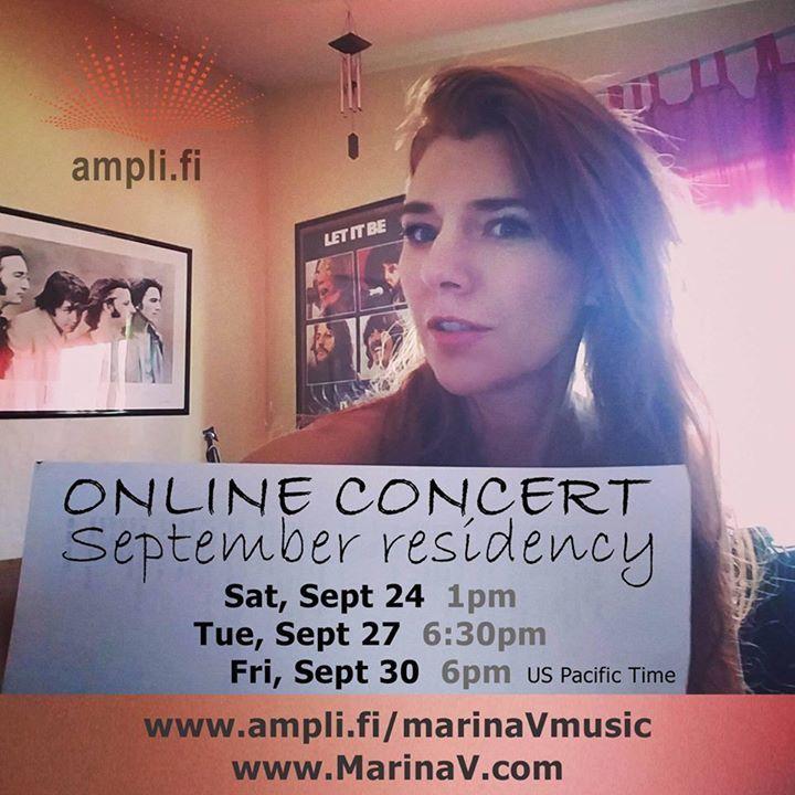 Marina V Tour Dates