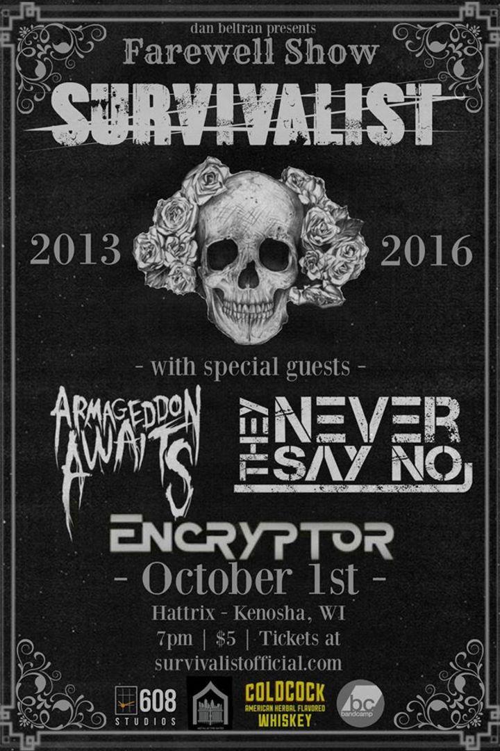 Survivalist Tour Dates