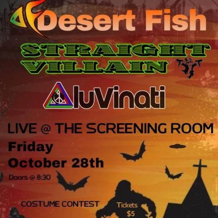 Straight Villain Tour Dates