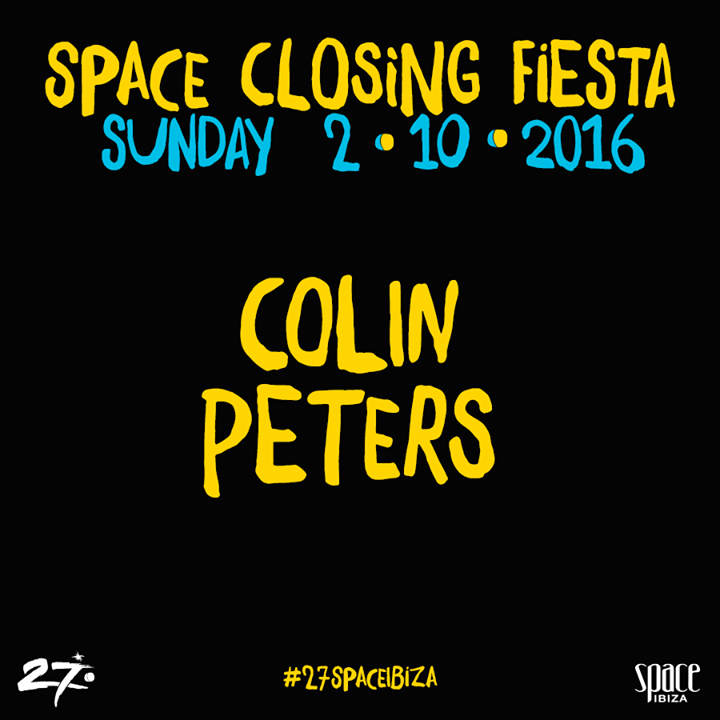 DJ Colin Peters Tour Dates