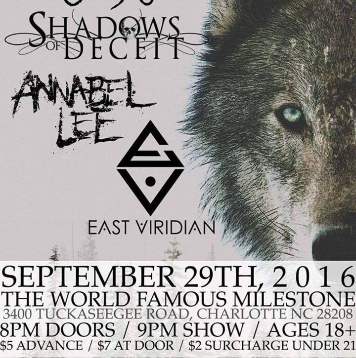 Shadows of Deceit (Official) Tour Dates
