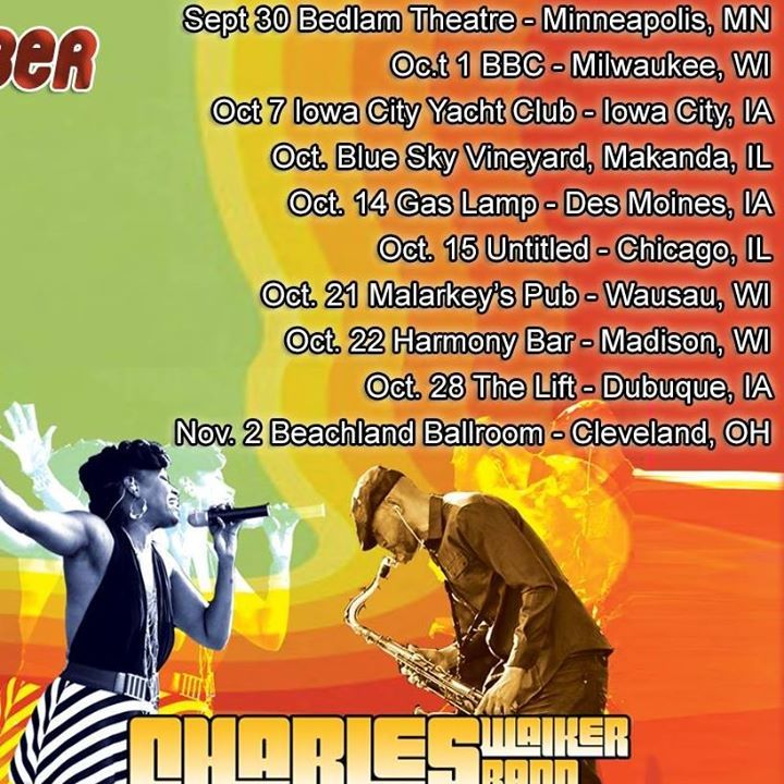 Charles Walker Band Tour Dates
