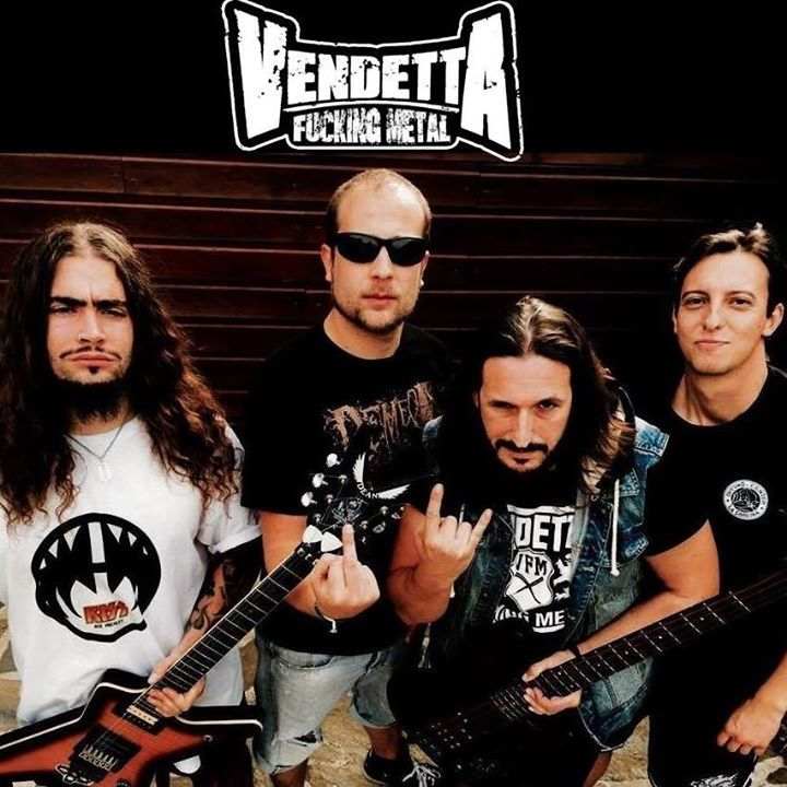 VENDETTA FUCKING METAL Tour Dates