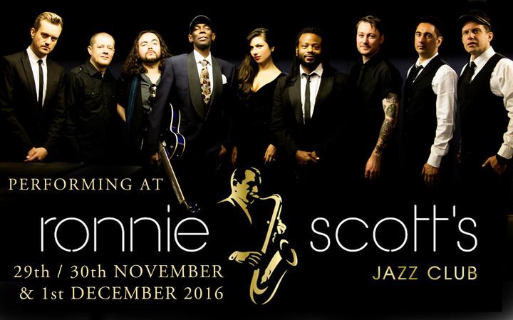 Maxi Jazz & The E-Type Boys @ Ronnie Scott's Jazz Club - London, United Kingdom