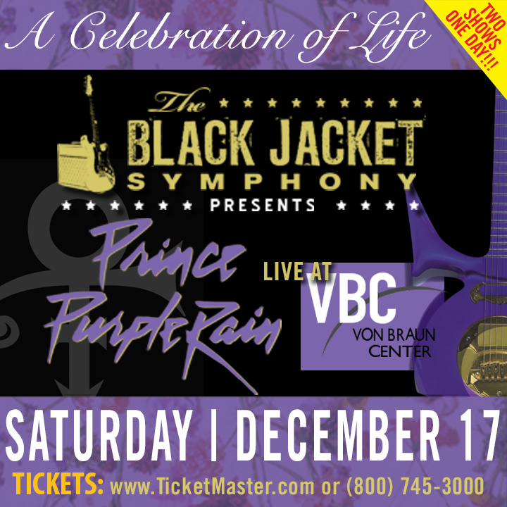 "The Black Jacket Symphony @ Von Braun Center Concert Hall - Performing Prince's ""Purple Rain"" - Huntsville, AL"