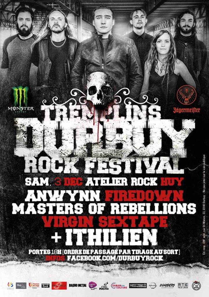 Masters of Rebellions @ Atelier Rock - Huy, Belgium