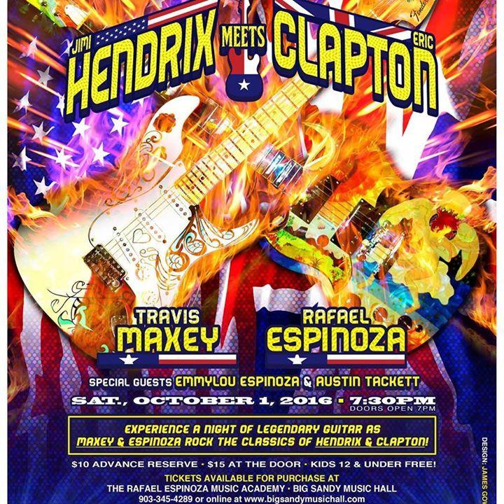 Rafael Espinoza Tour Dates