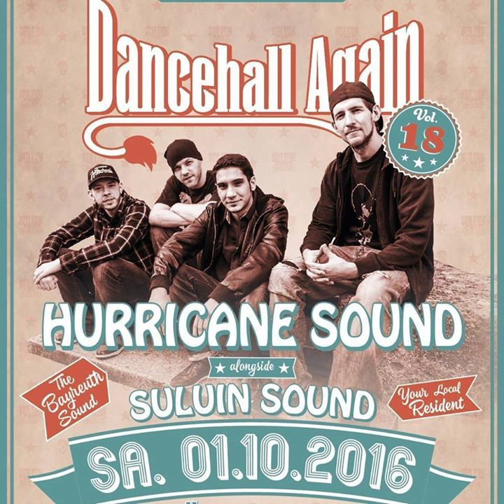 Hurricane Soundsystem Tour Dates