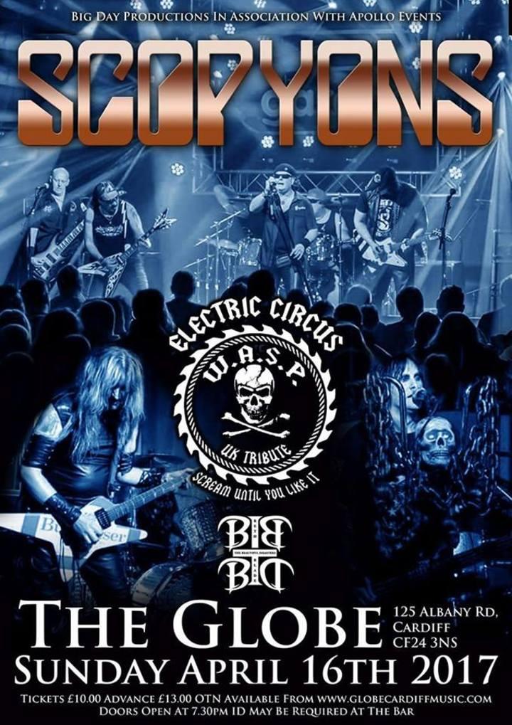 Electric Circus UK @ The Globe - Cardiff, United Kingdom