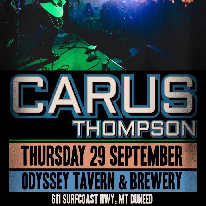 Carus Tour Dates