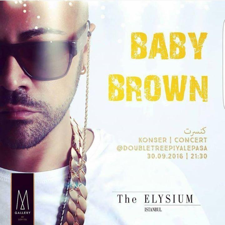 Baby Brown Tour Dates
