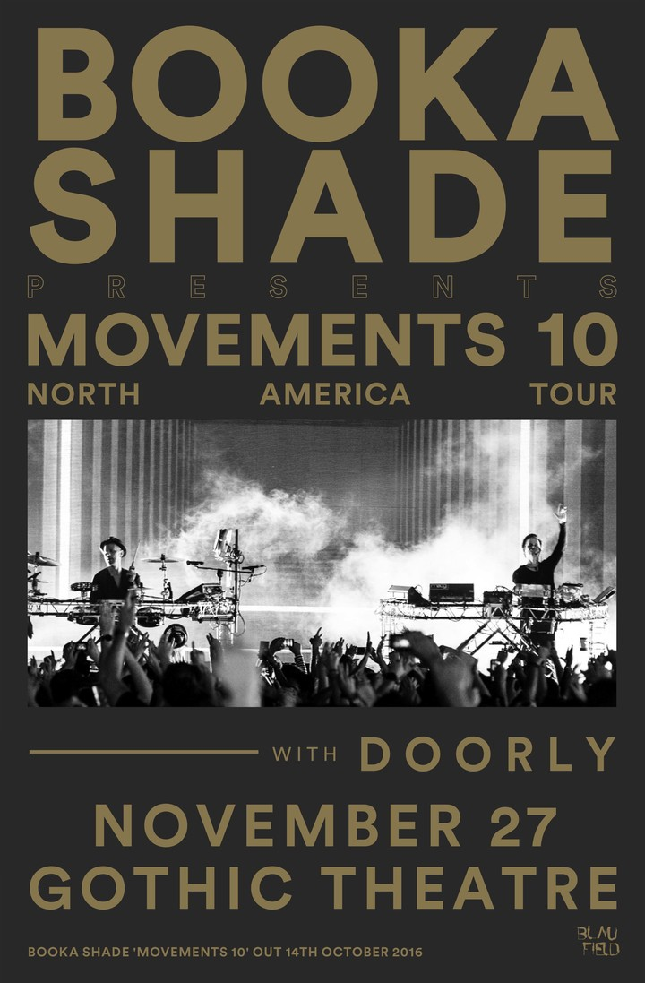 Booka Shade @ The Gothic Theatre - Englewood, CO