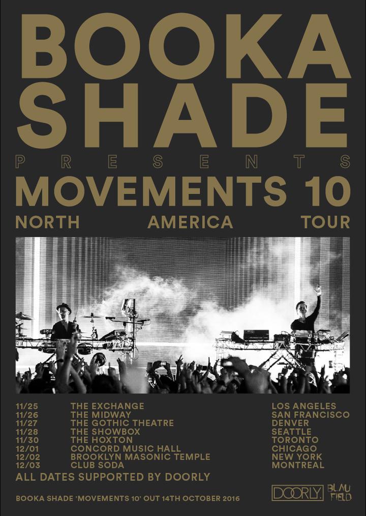 Booka Shade @ The Showbox  - Seattle, WA