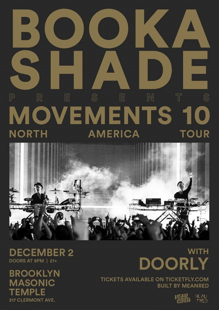 Booka Shade @ Masonic Temple - Brooklyn, NY