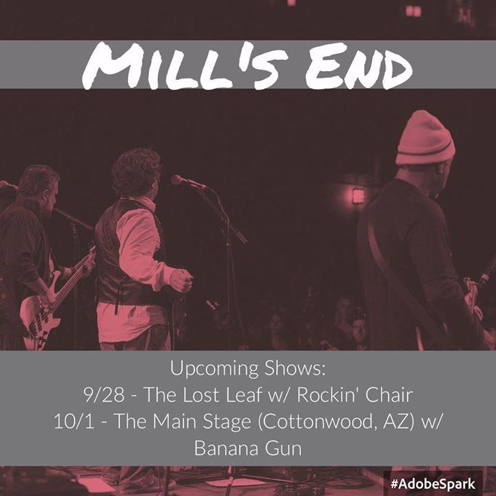 Mill's End Tour Dates