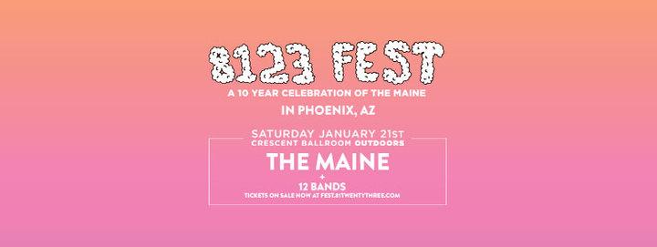 The Maine @ Crescent  Ballroom - Phoenix, AZ