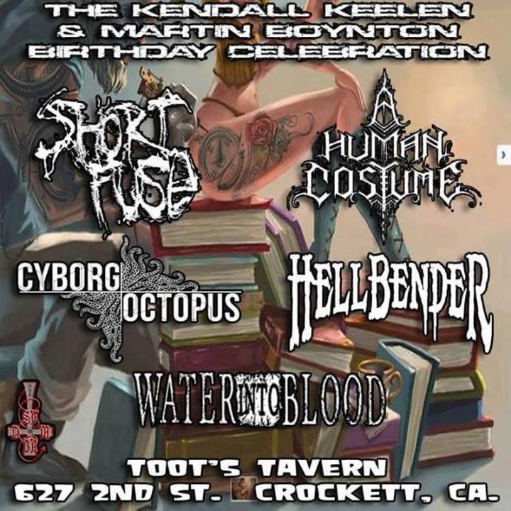 Cyborg Octopus Tour Dates