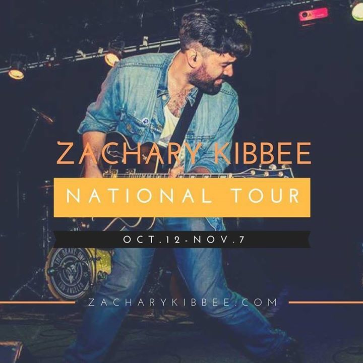 Zachary Kibbee Tour Dates