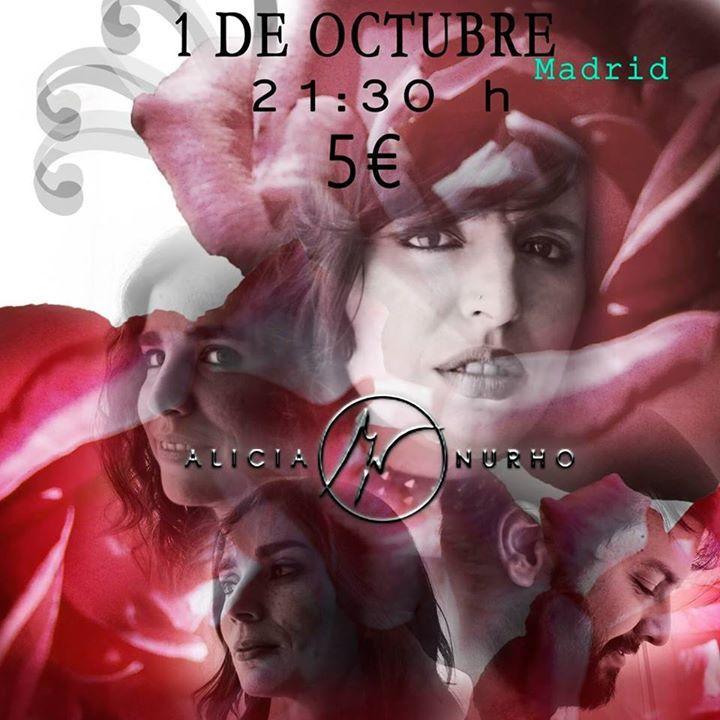 Alicia Nurho Tour Dates