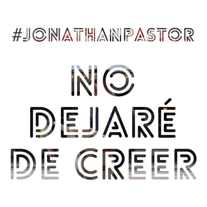 Jonathan Pastor Tour Dates