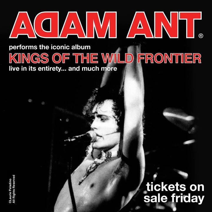 Adam Ant @ The Observatory North Park - San Diego, CA