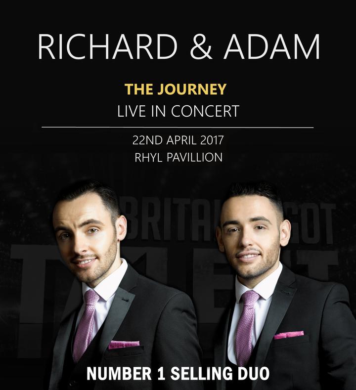 Richard and Adam @ Rhyl Pavillion Theatre - North Wales, PA