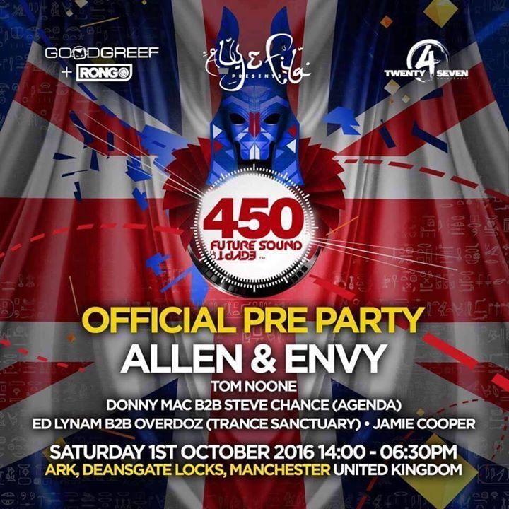 Allen & Envy Tour Dates