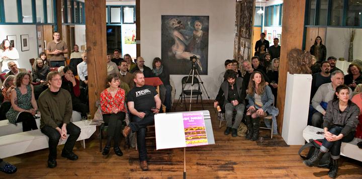Eva Beneke @ Lowertown Lofts Artist Cooeprative - St Paul, MN
