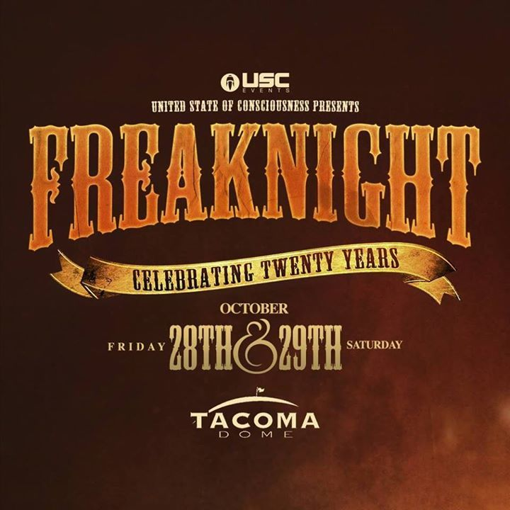 FreakNight Festival Tour Dates