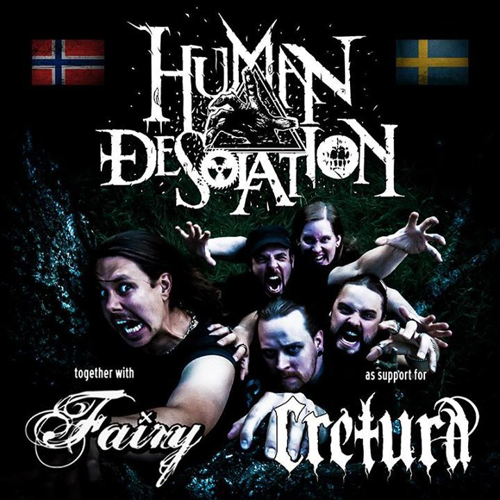 Human Desolation Tour Dates