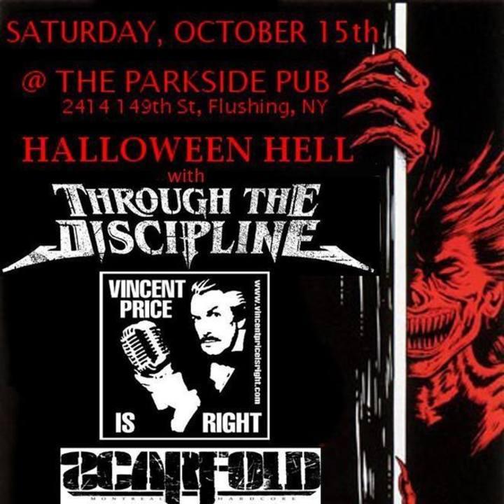 Through the Discipline Tour Dates