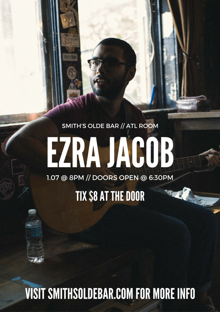 Ezra Jacob @ Smith's Olde Bar - Atlanta, GA