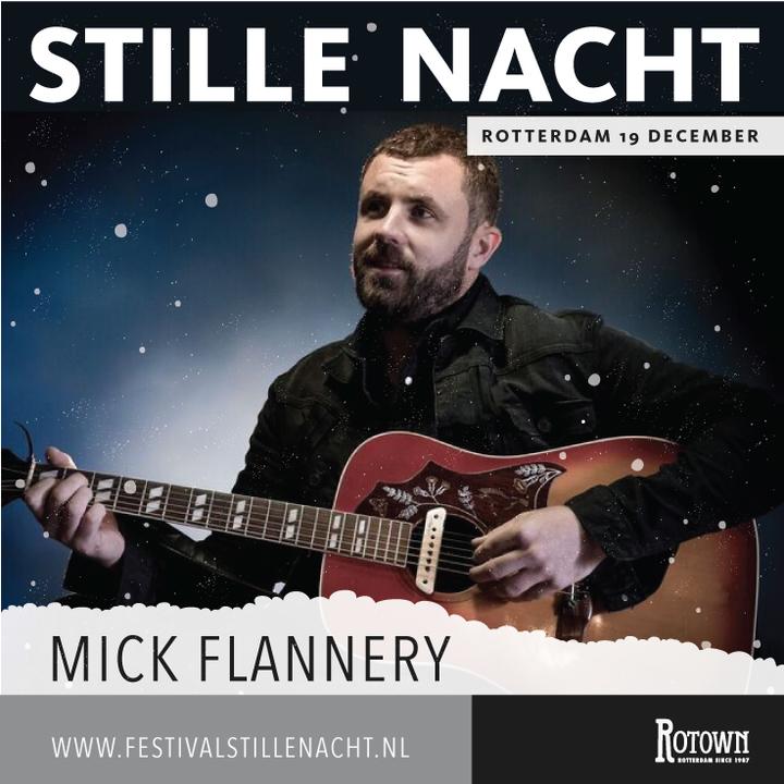 Mick Flannery @ Stille Nacht Festival - Paradijskerk - Rotterdam, Netherlands