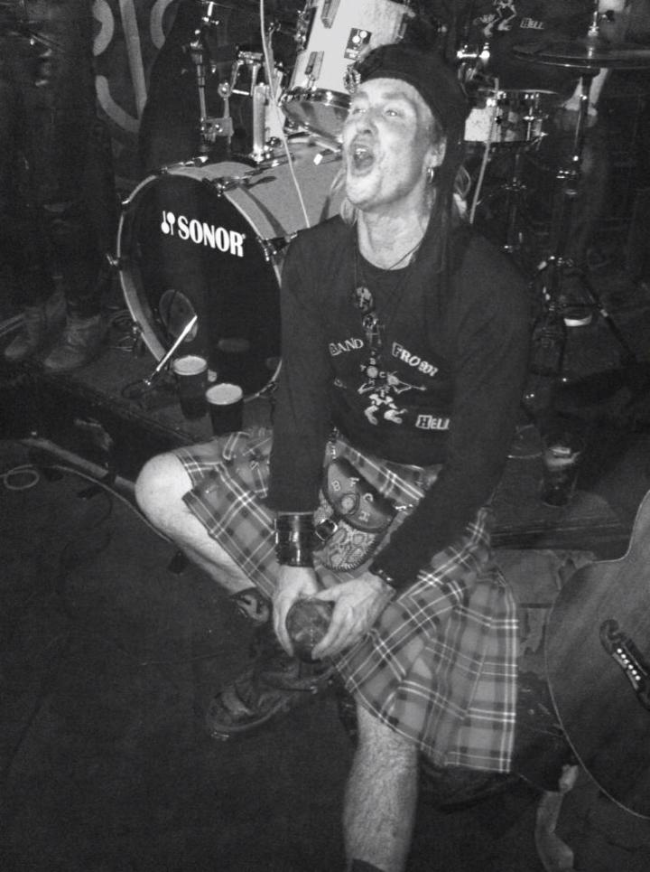 The Band From County Hell @ Bannermans - Edinburgh, United Kingdom